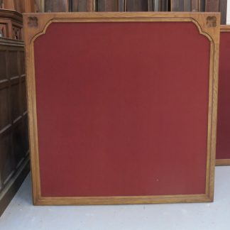 Outsize Oak and Pine Gothic Screens/Noticeboards