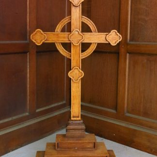 St Peters Ashford Hospital Chapel Large Oak Altar Cross