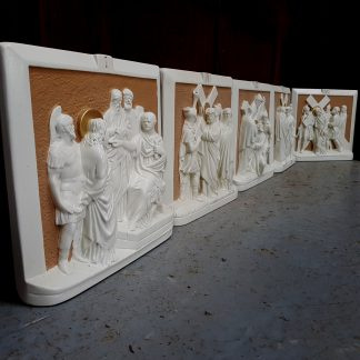 Full Set Irish Made Vintage Stations of the Cross