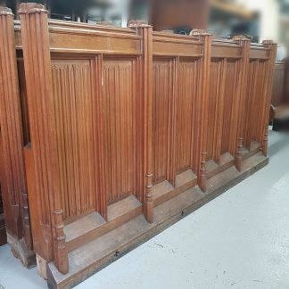Oak Panel Panelling Fronts