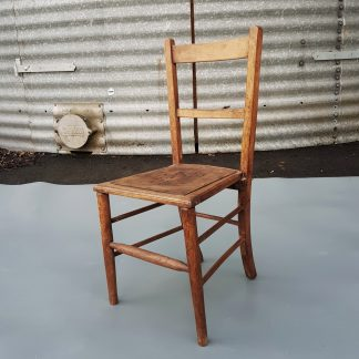 Simple Victorian Church Meeting Hall Chairs With Pierced Seats