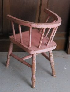 Wadhurst Village Church Two Sunday School Wheelback Chair Pink