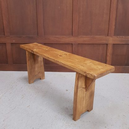 Simple Hand Made Reclaimed Pine Bench