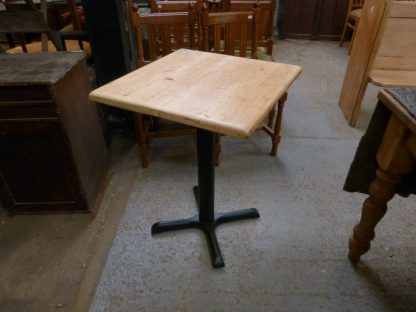 Bespoke New Cast Iron Pedestal Table