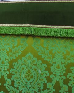 Altar Frontal and Superfrontal Green Lyne and Longcross