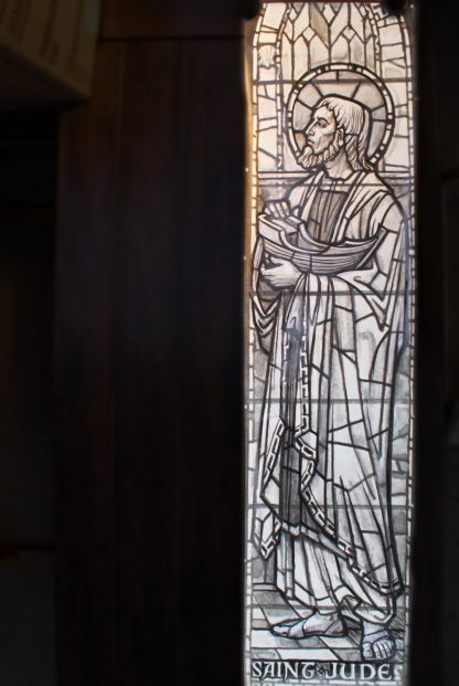 Original Stained Glass Window Cartoon - Saint Jude