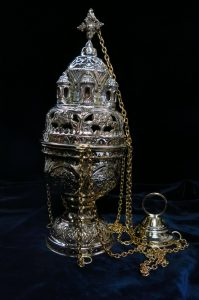 Thurible Censer Simple Orthodox Style