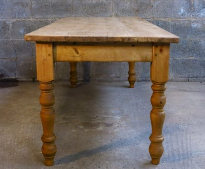 Farmhouse Bespoke Reclaimed Antique Pine Table