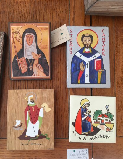 Small Icons, Religious Tiles Plaques