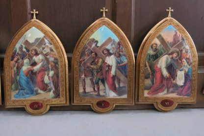 Set of 15 Maltese stations of The Cross Excellent Condition