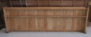 2.5m Long Limed Oak Panels / Panelling / Fronts