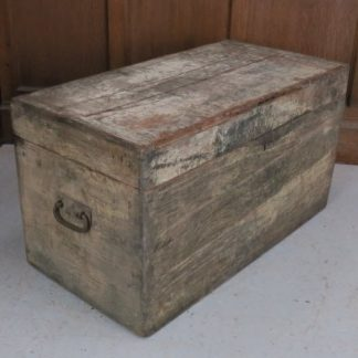 Tradesman's Pine Workbox With Handles