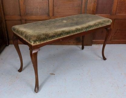 1920's Regency Style Two Person Piano Stool