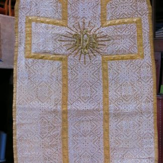 Chasuble French Gold Jaquard