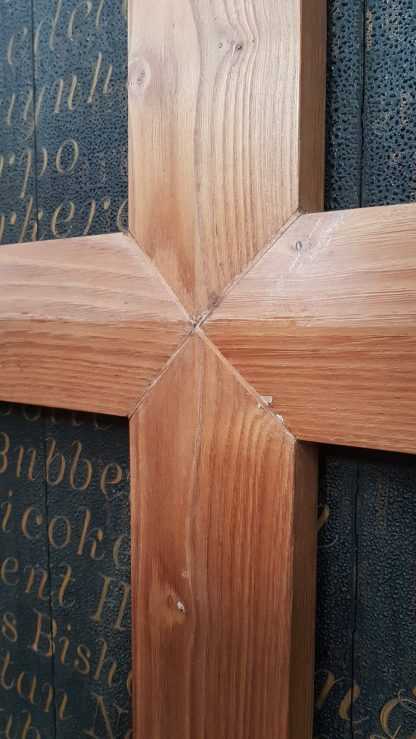 Simple Wall Mounted Oak Church Cross