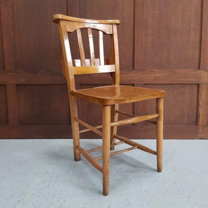 Peacehaven Church of the Ascension Thick Varnish Finish Chapel Chairs