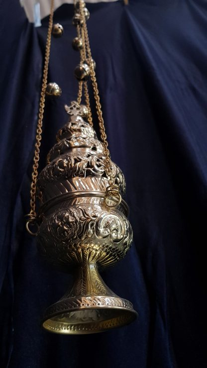 Thurible Censer Simple Orthodox Style With Bells
