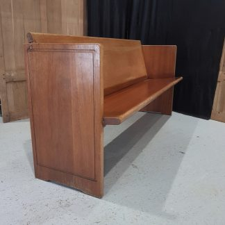 Vintage Hardwood Danish Design Pew
