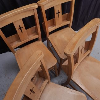 Beech Cross Back Chapel Church Chairs