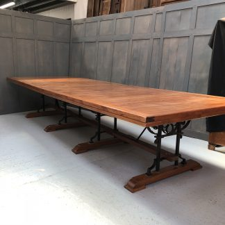 Monumental Boardroom Size Table