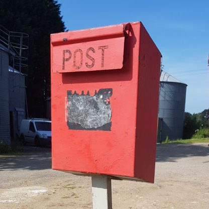Steel and Cast Iron Post Box