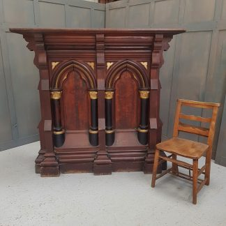 Monumental Victorian Antique Gothic Lectern Reading Desk