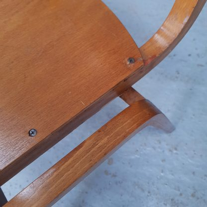 Classic 1960's British All-ply 'Tecta' Stacking Chairs