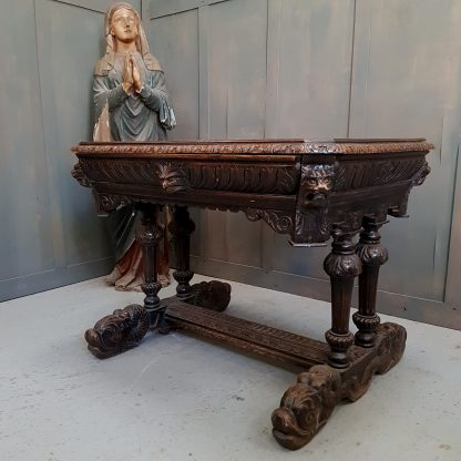 highly-carved-antique-church-occassional-table-in-traditional-english-style