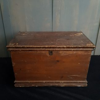 Medium Size Victorian Pine Document Box