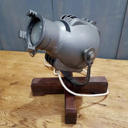 Table Mounted Vintage Theatre Lights by Strand