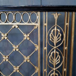 Nearly 8m of Genuine Gold Painted Georgian Panels
