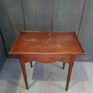 Simple Small Victorian Baltic Pine Communion Table