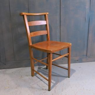 Honey Coloured Elm & Beech Ladderback Church Chapel Chairs