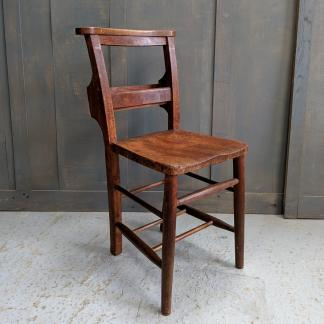 Egham Hythe Elm & Beech Early 1900's Classic Church Chapel Chairs