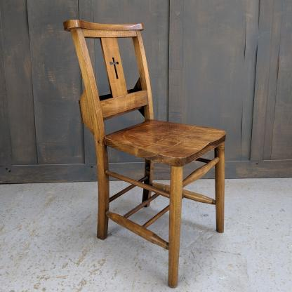 Premium Elm & Beech Cross Back Church Chapel Chairs