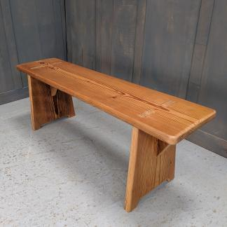 Pitch Pine Bench Made To Measure