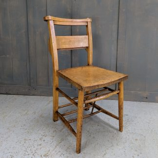 Ashford Vintage Elm Church Chapel Chairs