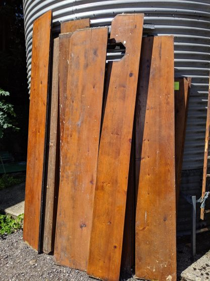Single Batch Antique Victorian Broad Plank Flooring Irthlingborough #1