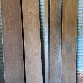 4m2 Single Batch Antique Victorian Broad Plank Oak Flooring Timber Northampton #2