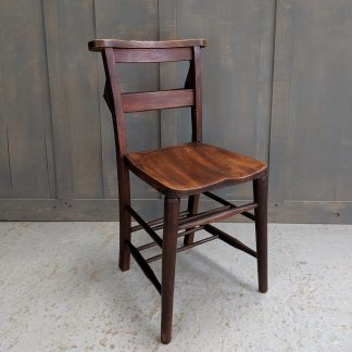 Ilford Classic Antique Elm & Beech Church Chapel Chairs