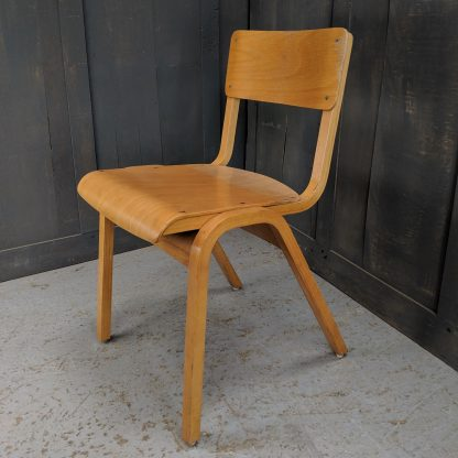 Classic 1960's Vintage 'Tecta' Style All-Ply Stacking Chairs
