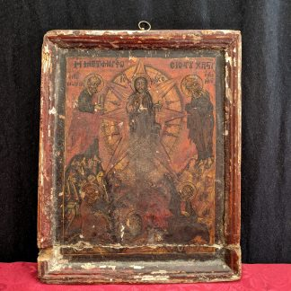 Early 18th Century Greek/Byzantine Icon 'Metamorphosis of Christ'