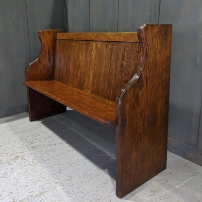 Stanmore Chapel 1936 High Back Deal Pews