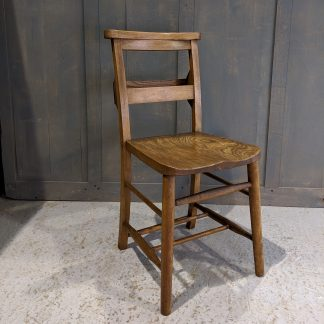 Dudley Classic Elm & Beech Chapel Chairs 'The Grain'