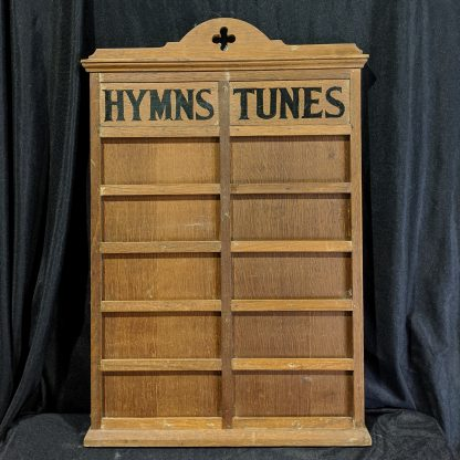 Antique Rare Double Hymnboard - Hymns & Tunes