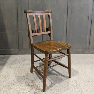Mealing Brothers Quality Elm & Beech Slatback Church Chapel Chairs