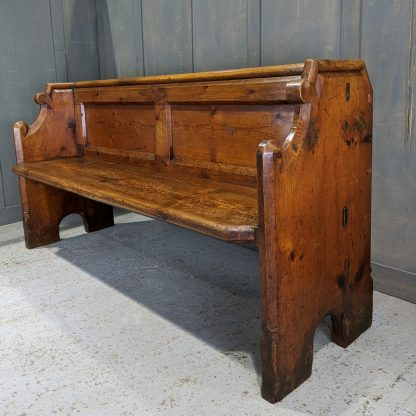 St James at Bradwell 1860's Antique Pine Church Chapel Pews Benches