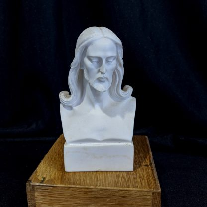 Good Quality Composition Marble Bust of Christ