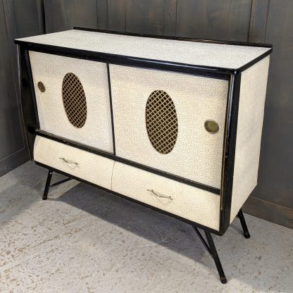 Uber 1950's High Fashion Vintage Formica topped Cocktail Cabinet