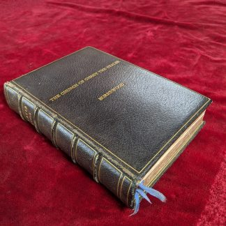 Leather Bound Prayer Book from the Famous Healing Church at Burrswood, Kent